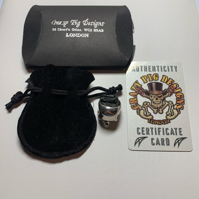 CRAZY PIG(クレイジーピッグ)の80円市場様専用 メンズのアクセサリー(リング(指輪))の商品写真