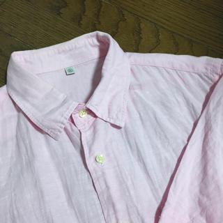 UNIQLO  リネンシャツ  XL
