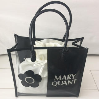 MARY QUANT - マリークワント クリアトート 新品未使用