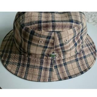 ラコステ(LACOSTE)のLACOSTE ラコステ 帽子 リバーシブルハット(ハット)