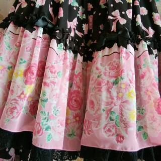 Angelic Pretty - アンジェリックプリティ オリジナルプリントシフォンジャンパースカート