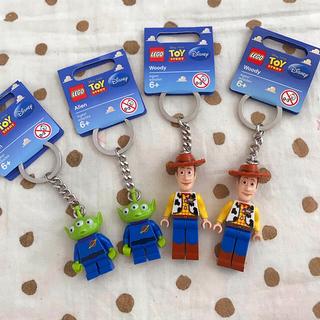 レゴ(Lego)のLEGO トイストーリーキーホルダー4点セット(キーホルダー)
