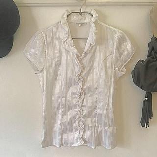 ce005b3e33a7a ナラカミーチェ(NARACAMICIE)のナラカミーチェ☆白ブラウス美品☆サイズ1