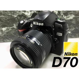 Nikon - はじめての一眼レフ☆ Nikon D70 レンズキット