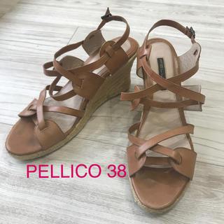 ペリーコ(PELLICO)のPELLICO サンダル 38(サンダル)
