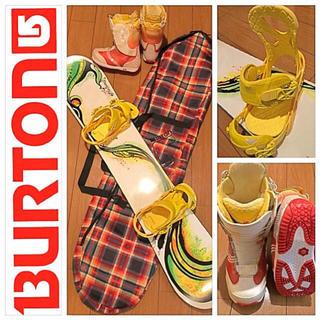 バートン(BURTON)のBURTON スノーボードセット(ボード)