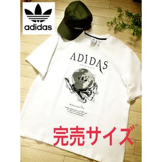 アディダス(adidas)のレア【超美品】adidas アディダス  Tシャツ(Tシャツ/カットソー(半袖/袖なし))