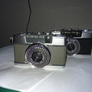 オリンパス(OLYMPUS)のオリンパス pen 2台セットです。(フィルムカメラ)