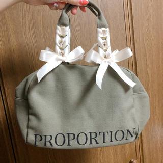 プロポーションボディドレッシング(PROPORTION BODY DRESSING)のPROPORTION BODY DRESSING♡ノベルティトート(トートバッグ)