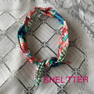 シェルターオリジナル(Shel'tter ORIGINAL)の美品 SHEL'TTER ヘアバンド(ヘアバンド)