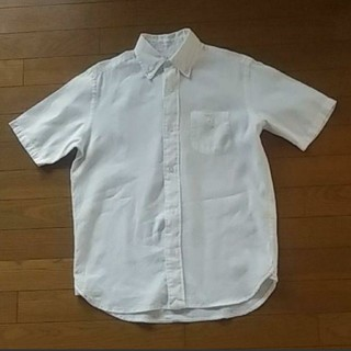 コーエン(coen)のコーエン coen リネン麻綿 半袖ボタンダウンシャツ メンズS(シャツ)