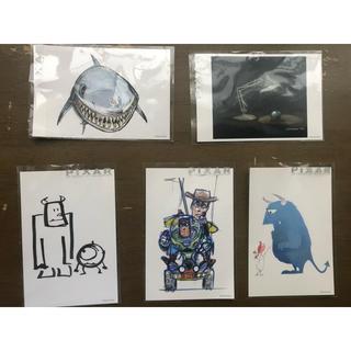 トイストーリー(トイ・ストーリー)のPIXAR ポストカード(使用済み切手/官製はがき)