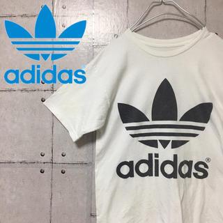 アディダス(adidas)の【激レア】【90s】両面トレフォイルロゴ  アディダス adidas Tシャツ(Tシャツ/カットソー(半袖/袖なし))