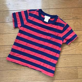 ラルフローレン(Ralph Lauren)の【Ralph Lauren】ラルフローレン ボーダー Tシャツ キッズ 80(シャツ/カットソー)