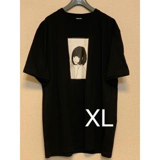 ヨウジヤマモト(Yohji Yamamoto)の0.14×夕海 コラボ ビッグシルエット Tシャツ 黒(Tシャツ/カットソー(半袖/袖なし))