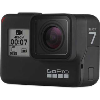 ゴープロ(GoPro)のGopro HERO7 black フロント画面付き 送料無料(ビデオカメラ)