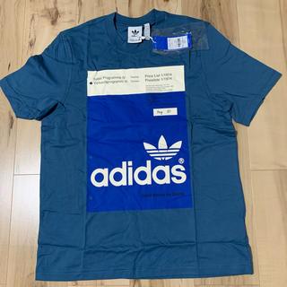 アディダス(adidas)の【新品】adidas アディダスオリジナルス Tシャツ  ブルー 青(Tシャツ/カットソー(半袖/袖なし))