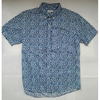 GU - GU ジーユー デザインシャツ メンズ サイズS