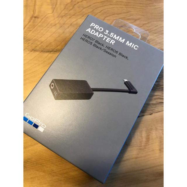 GoPro(ゴープロ)の【新品未使用】GoPro ゴープロ mic adapter マイクアダプター スマホ/家電/カメラのカメラ(ビデオカメラ)の商品写真