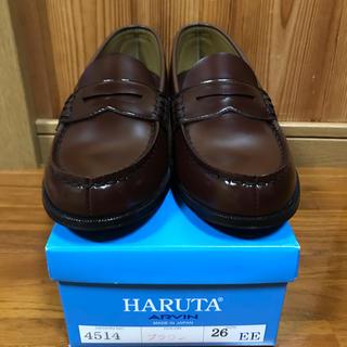 ハルタ(HARUTA)のHARUTA ハルタ ローファー 26cm EE(ローファー/革靴)