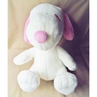 スヌーピー(SNOOPY)のスヌーピー メガジャンボふわふわ ピンク ぬいぐるみ/プライズ アミューズメント(ぬいぐるみ)