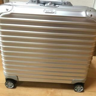 リモワ(RIMOWA)のリモワ トパーズ ビジネストロリー 4輪 シルバー ステルス 機内持込(トラベルバッグ/スーツケース)