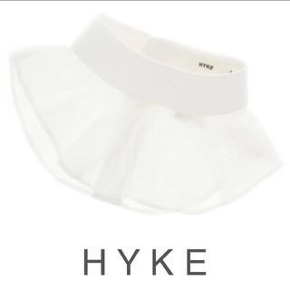 HYKE - 【 未使用 】HYKE ラウンド つけ襟