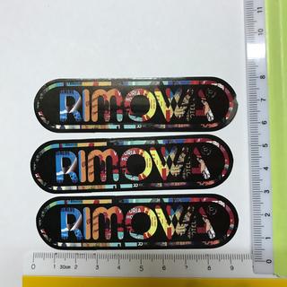 リモワ(RIMOWA)の#1 rimowa ステッカー 防水 シール(トラベルバッグ/スーツケース)