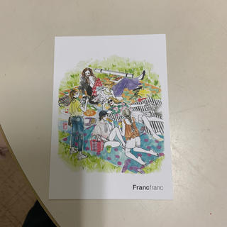 フランフラン(Francfranc)のFrancfrancのポストカード(その他)