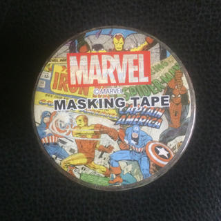 マーベル(MARVEL)の【新品未開封】マーベル🌟マスキングテープ 1点(テープ/マスキングテープ)