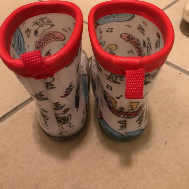 しまむら(シマムラ)のスヌーピー レインブーツ 長靴 キッズ/ベビー/マタニティのキッズ靴/シューズ (15cm~)(長靴/レインシューズ)の商品写真