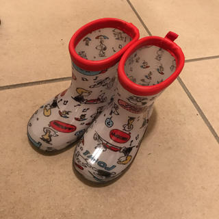 しまむら - スヌーピー レインブーツ 長靴