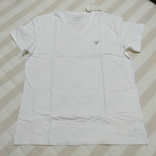 アメリカンイーグル(American Eagle)のAmerican Eagle シンプル ベーシック Vネック 半袖 Tシャツ(Tシャツ/カットソー(半袖/袖なし))