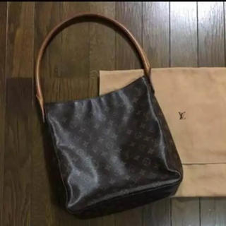 1166af31f033 ルイヴィトン(LOUIS VUITTON)の【正規品】 LOUIS VUITTON モノグラム ルーピング(. トートバッグ