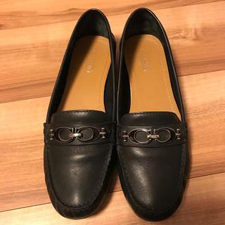 d24a0b2e8fef コーチ(COACH) ローファー/革靴(レディース)(ブラック/黒色系)の通販 ...