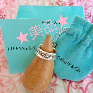 ティファニー(Tiffany & Co.)の美品☆ ティファニー ナローリング 8号(リング(指輪))