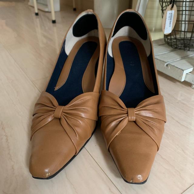 ベルメゾン(ベルメゾン)の【最終お値下げ】ベネビス  パンプス 24.5 レディースの靴/シューズ(ハイヒール/パンプス)の商品写真