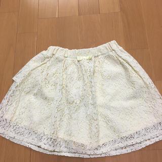 ジーユー(GU)のインナーパンツつきスカート 130cm(スカート)