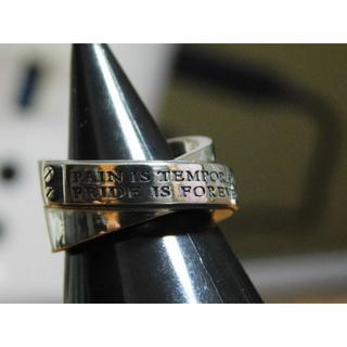 ドクターモンロー(Dr.MONROE)の新品未使用 ドクターモンロー メッセージクロスリング 11号 クロス リング(リング(指輪))