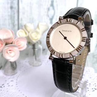 Tiffany & Co. - 【動作OK】TIFFANY&Co ティファニー アトラス 腕時計 メンズ