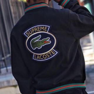 Supreme - Sサイズ Supreme×LACOSTE Varsity Jacket