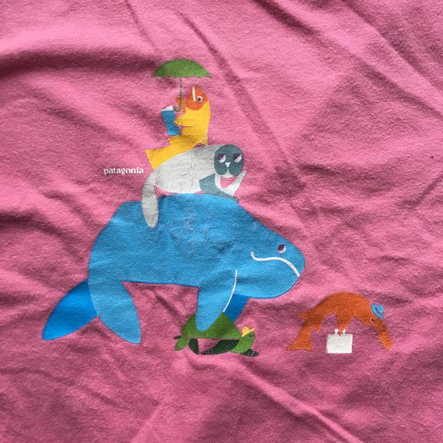 patagonia(パタゴニア)のpatagonia パタゴニア キッズ 18M tシャツ キッズ/ベビー/マタニティのベビー服(~85cm)(Tシャツ)の商品写真