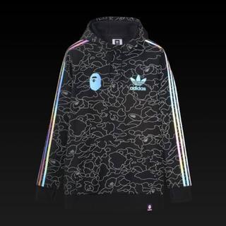 A BATHING APE - adidas bape tech hoodie