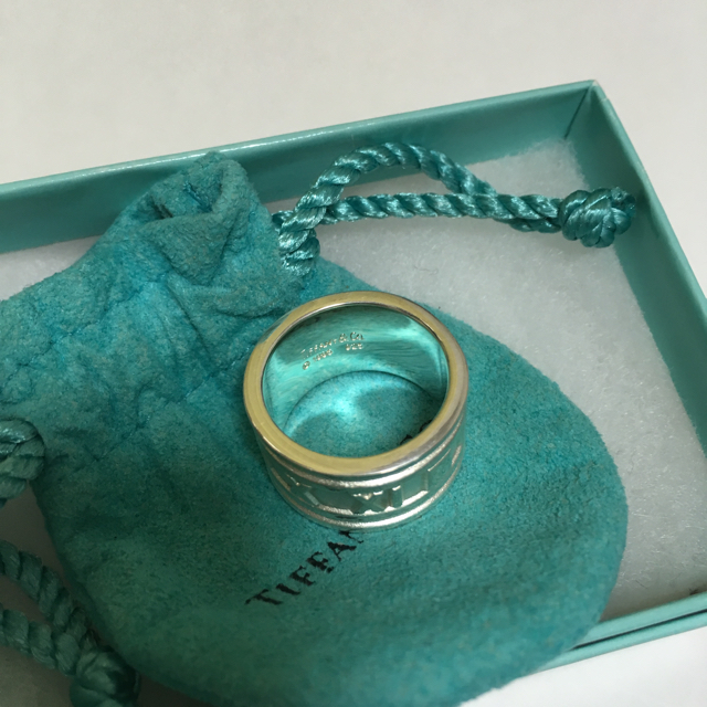 Tiffany & Co.(ティファニー)のティファニー・アトラス幅広リング限界お値下げ❤️ メンズのアクセサリー(リング(指輪))の商品写真