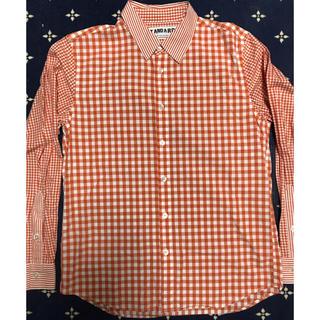 サザビー(SAZABY)の★STANDARD サザビーリーグ ギンガムチェック×ストライプシャツ(シャツ)