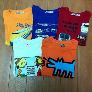 UNIQLO - ユニクロ 半袖Tシャツ 5枚セット 110cm