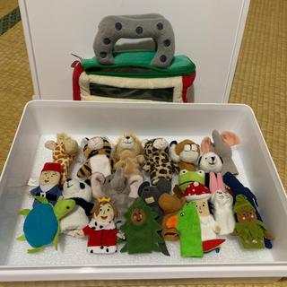 イケア(IKEA)の指人形 上野動物園 IKEA  フィギュア (ぬいぐるみ)