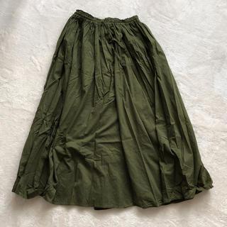 しまむら - コットンボイルスカート  L  美品