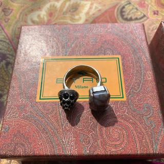 ETRO - 【Vintage】ETRO Silver 925 ring 指輪 エトロ