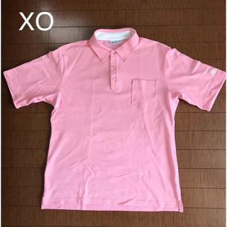 アディダス(adidas)のアディダス ポロシャツ メンズ ピンクXO(ウエア)